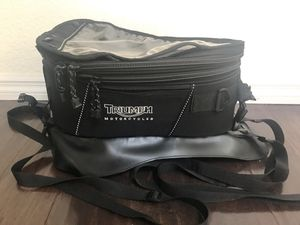 * * * * Triumph motorcycle OEM tank bag * * * * for Sale in Orlando, FL