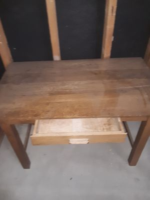 Wooden desk for Sale in Hotchkiss, CO