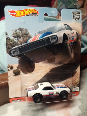 1967 OFF ROAD WHITE RED AND BLUE CAMARO HOTWHEEL for Sale in San Diego, CA
