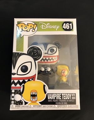 Funko POP Disney: Nightmare Before Christmas - Vampire Teddy w/ Undead Duck for Sale in Fountain Valley, CA