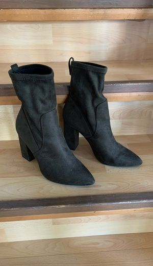 Women's H&M slip on boots. Like new. Worn once. for Sale in Hollywood, FL