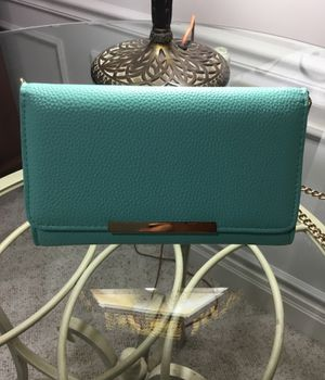 TIFFANY BLUE LEATHER WALLET PURSE for Sale in Des Peres, MO