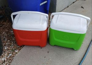 2 Igloo Coolers for Sale in Suffolk, VA