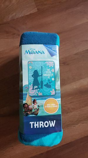 New Disney Moana throw blanket for Sale in Bloomington, IL