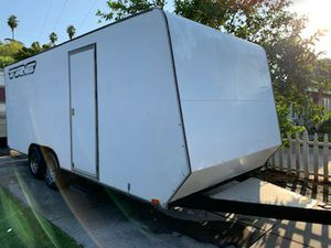 Carson Enclosed Cargo Trailer RampSideDoor 20FT ToolTable for Sale in Riverside, CA