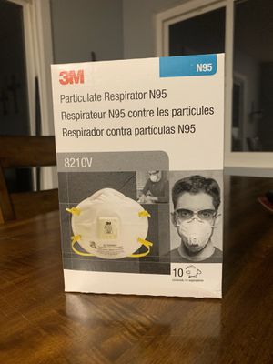 3M N95 Face Mask 10pk Face Breathing Safety for Sale in Ontario, CA