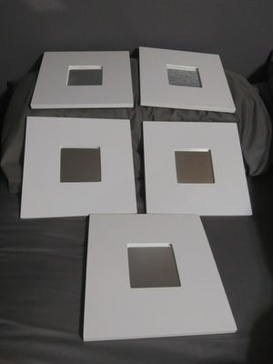 """Ikea New 5 mirror 10"""" x 10"""" & mirror 4"""" x 4"""" $40 for all for Sale in Mesa, AZ"""