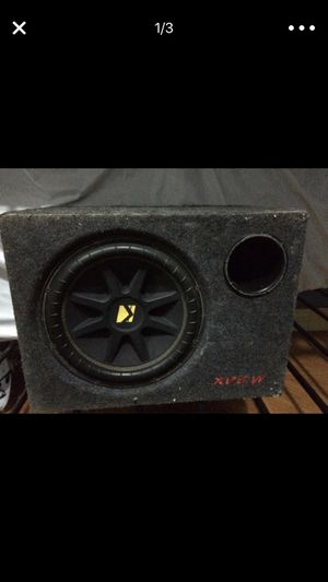 subwoofer (bass) for car works perfect for Sale in Brooklyn, NY