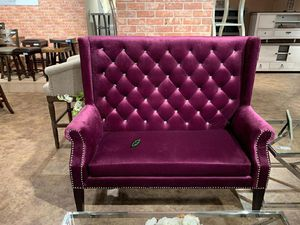 💲39 Down Payment     🍃🍂  SPECIAL] Odina Velvet Purple High Back Loveseat for Sale in Jessup, MD