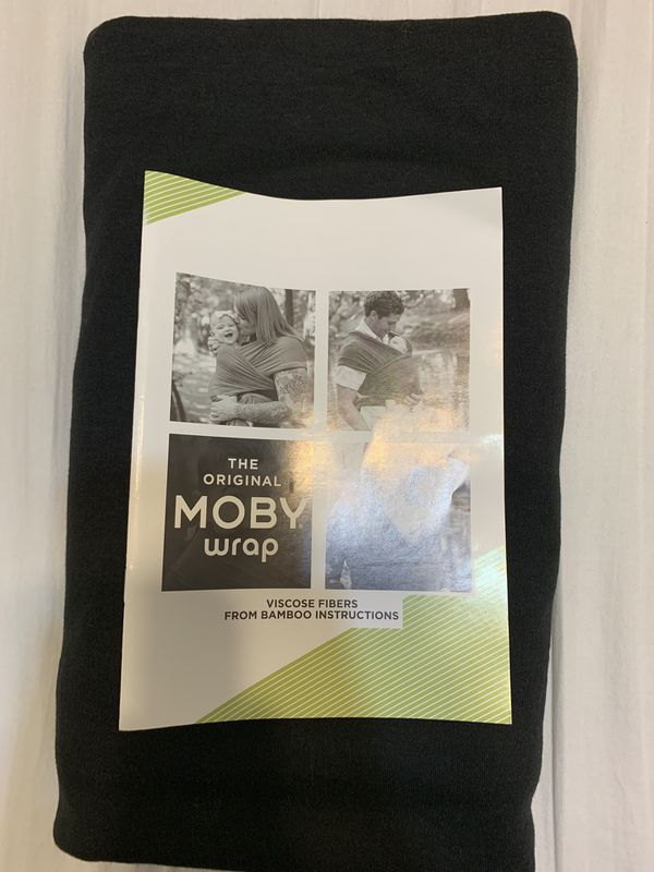 6fc198086c1 Moby Wrap Baby Carrier in Black - New for Sale in La Mirada