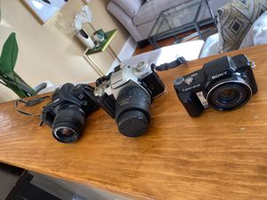 Canon, pentax, Sony cyber-shot for Sale in Bridgeport, CT