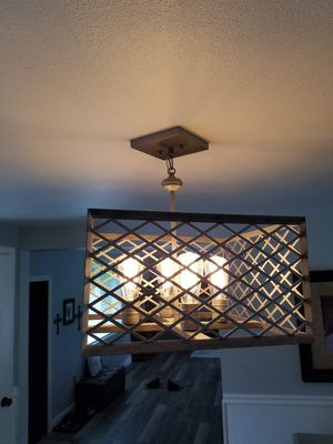 Nice Hanging Ceiling Light Fixture for Sale in Puyallup, WA