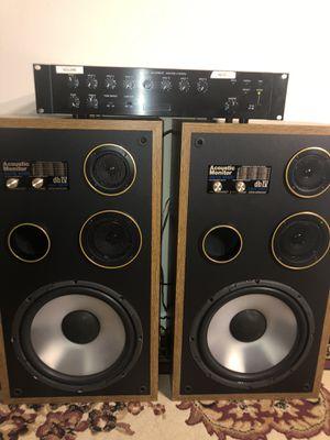 Bosinas y amplificador for Sale in Annandale, VA