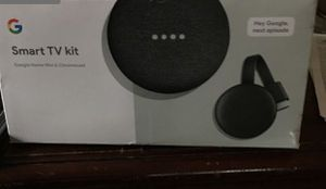Google Smart TV Kit includes Google Home mini and Chromecast never used for Sale in Lakeland, FL