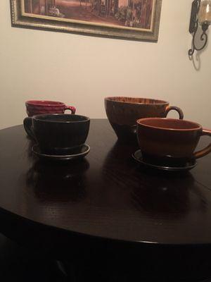 Large decorative ceramic coffee mugs for Sale in Smyrna, TN