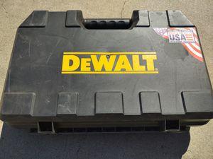 DeWalt hammer drill box. for Sale in Covina, CA
