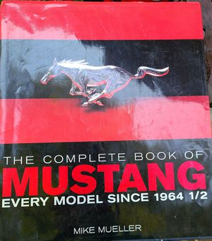 Complete Book Of Mustangs for Sale in Arcadia, CA