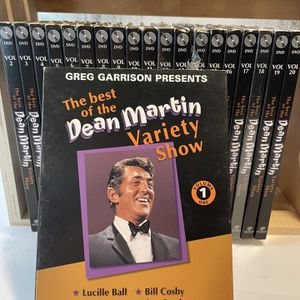 Dean Martin DVD collection 1 - 20 for Sale in Edmonds, WA