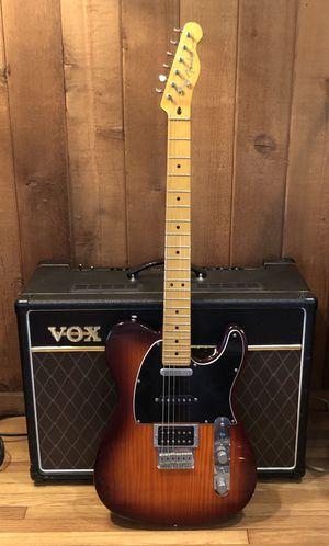 Fender telecaster, honey burst modern player plus 3 pickup electric guitar for Sale in Los Angeles, CA