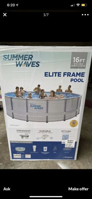 16 FT Pool Brand new for sale !! for Sale in Lynn, MA