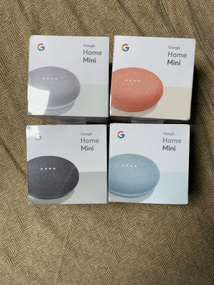 BRAND NEW GOOGLE HOME MINI for Sale in Sioux City, IA