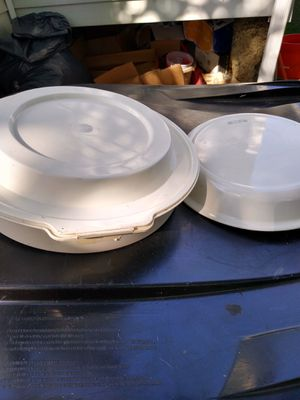 """Corning Ware pie plate 9"""" carry all kitchen stove pots pans desert glass for Sale in Brooklyn, OH"""