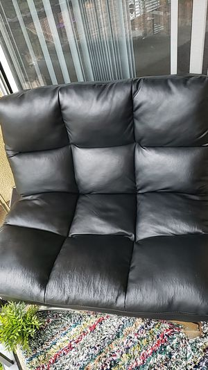 Leather Futon chair for Sale in Newport Beach, CA