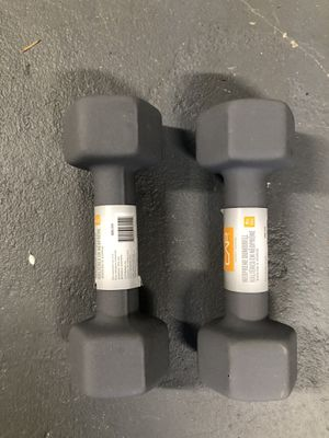 CAP Hex Neoprene Dumbbells Set of 2 for Sale in St. Louis, MO