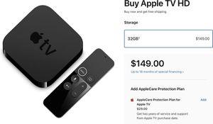 Apple TV HD 32gb for Sale in Auburn, WA