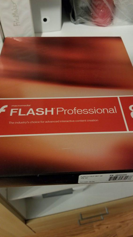 Macromedia Adobe Flash 8 original software