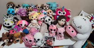 Beanie boos/stuffed animals for Sale in Paramount, CA