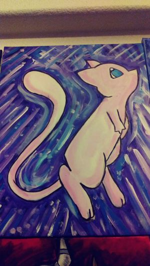 Mew painting for Sale in Scottsdale, AZ