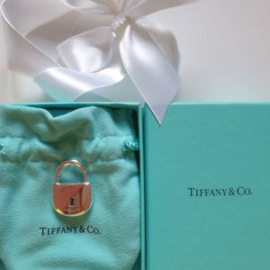 Authentic Tiffany & Co. lock Arc Charm Sterling Silver for Sale in Queens, NY