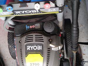 Ryobi 2700 PSI pressure washer for Sale in Tampa, FL