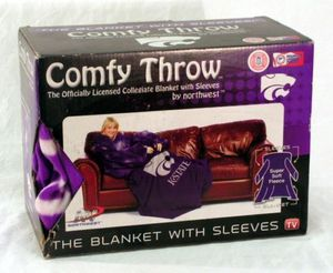 Kansas State comfy fleece blanket throw for Sale in Saint Charles, MO