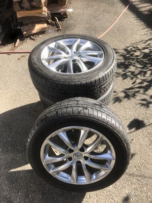 "Infiniti g35x wheels 17"" for Sale in University Place, WA"
