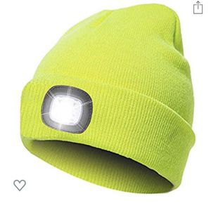 LED Unisex Headlamp Beanies- USB rechargeable for Sale in Brea, CA