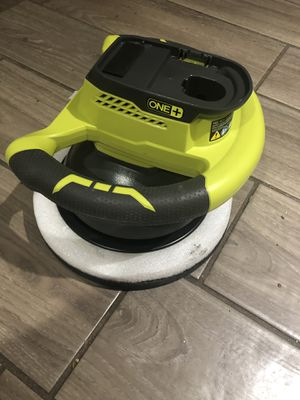 Ryobi 18V 10 in. Orbital Buffer ONE+ (Tool Only) Cordless Car Buffing Power Tool for Sale in St. Petersburg, FL