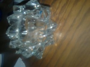 Glass candle holder for Sale in Albuquerque, NM