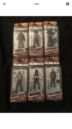 McFarlane Toys AMC The Walking Dead Complete Series 7 Action Figures *NEW* for Sale in Scottsdale, AZ