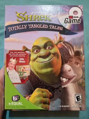 Shrek Totally Tangled Tales - DVD game for Sale in Boylston, MA