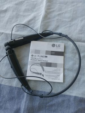 LG Bluetooth stereo headset for Sale in Brooklyn, NY