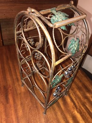 Antique finish wine rack for Sale in Arlington, TX