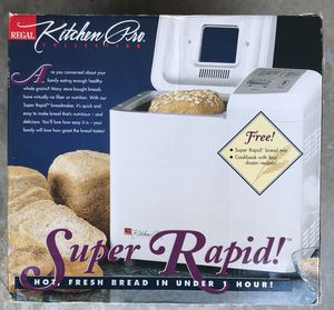 Kitchen Pro Collection Super Rapid Bread Maker for Sale in Nashville, TN