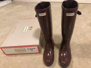 Hunter Original Tall Rain Boots for Sale in Maple Valley, WA