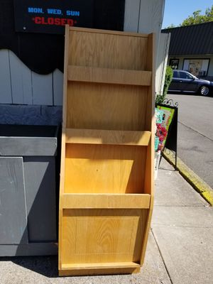 Free Large Wood Display Case for Sale in Gresham, OR
