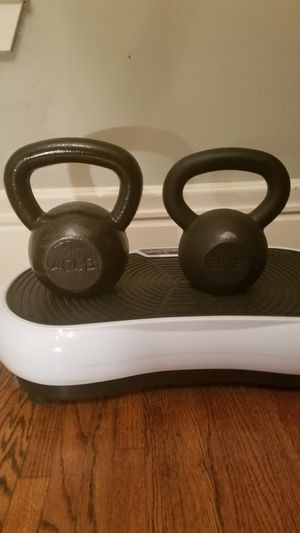 2 kettlebells both for $60 today for Sale in Saint Paul, MN