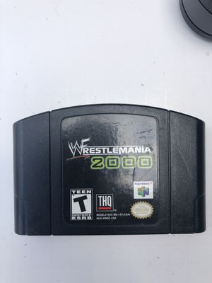 WWF Wrestlemania 2000 N64 game for Sale in Berkeley Springs, WV
