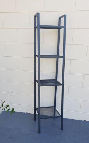 Ikea charcoal metal shelves 2 for Sale in Auburndale, FL