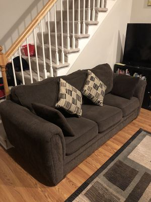 Queen Sleeper Sofa with Innerspring Mattress for Sale in Sudbury, MA